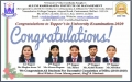 AKIM CONGRATULATES TO UNIVERSITY TOPPERS